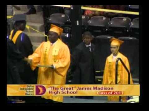 James Madison High School (Dallas) Graduation 2011