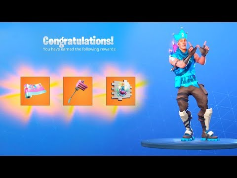 The FREE BIRTHDAY EVENT REWARDS NOW In Fortnite..