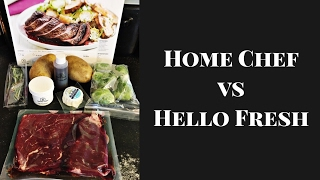 Home Chef Vs Hello Fresh -- Trying Meal Delivery Services