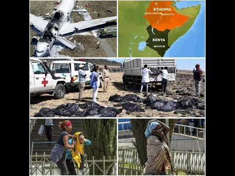 FULL VIDEO: The Ethiopian Airlines Flight 302 Which Crushed Killing 157 People_SAD!