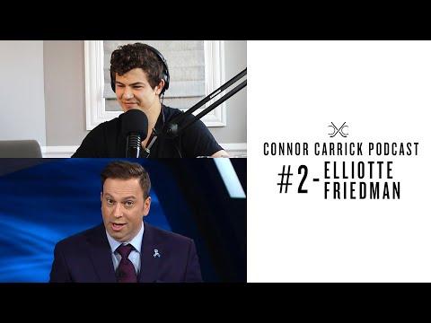 #2 - Elliotte Friedman   Connor Carrick Podcast