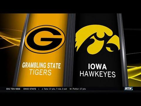 Grambling State at Iowa - Men's Basketball Highlights