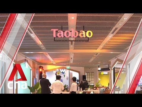 Taobao's First Integrated Store In Southeast Asia Opens In Singapore