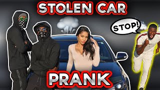 SOMEONE STOLE MY BOYFRIEND'S CAR 😲(PRANK) HE CHASES THE THIEF!