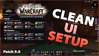 WoW CLEAN UI Seтup | Addons Guide | Shadowlands 9.0
