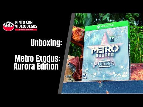 ¡UNBOXING! Metro Exodus: Aurora Edition para #Xbox
