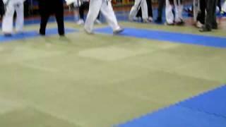 Соревнования по каратэ Кёкушинкай в СПБ