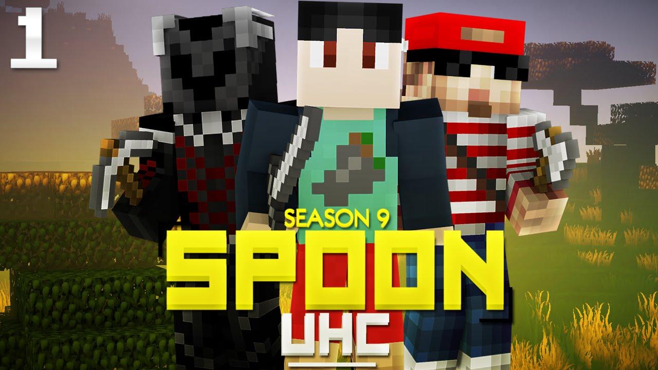 "Minecraft: Spoon UHC Season 9 - ""DIAMONDS!?"" - Episode 1 w ..."