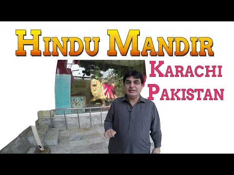 Hindu Temple / Mandir (Neelkanth Mahadev) in Karachi, Pakistan (4K video)