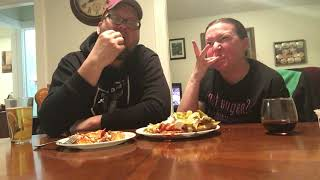 Loaded Home Made French Fries Mukbang