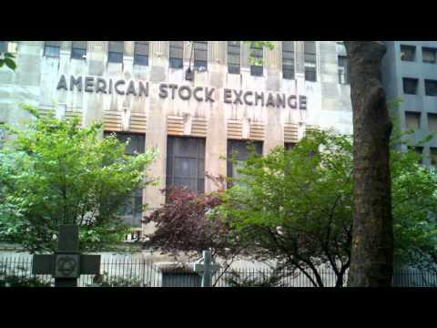 Ten Second Movie: American Stock Exchange is Dead