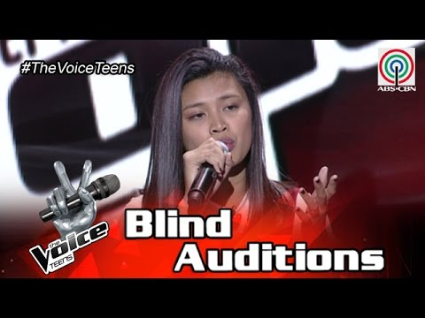 The Voice Teens Philippines Blind Audition: Queenie Ugdiman - Scared To Death