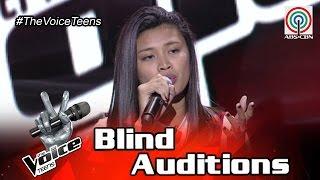 The Voice Teens Philippines Blind Audition: Queenie Ugdiman - Scared To Death