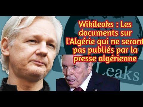 Wikileaks : Les documents sur l'Algérie qui ne seront pas publiés par la presse algérienne