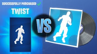 Fortnite Twist Music Vs Twist Emote | Fortnite Disco Fever Music Vs Disco Domination Music