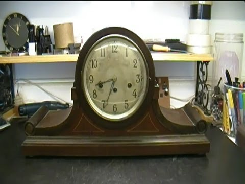 Junghans Mantel Clock Repair, 160 W1032810 Franklin Model Preview