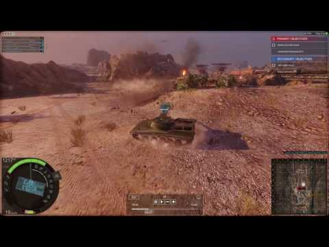 Armored Warfare, RDF/LT PvE Review and Guide