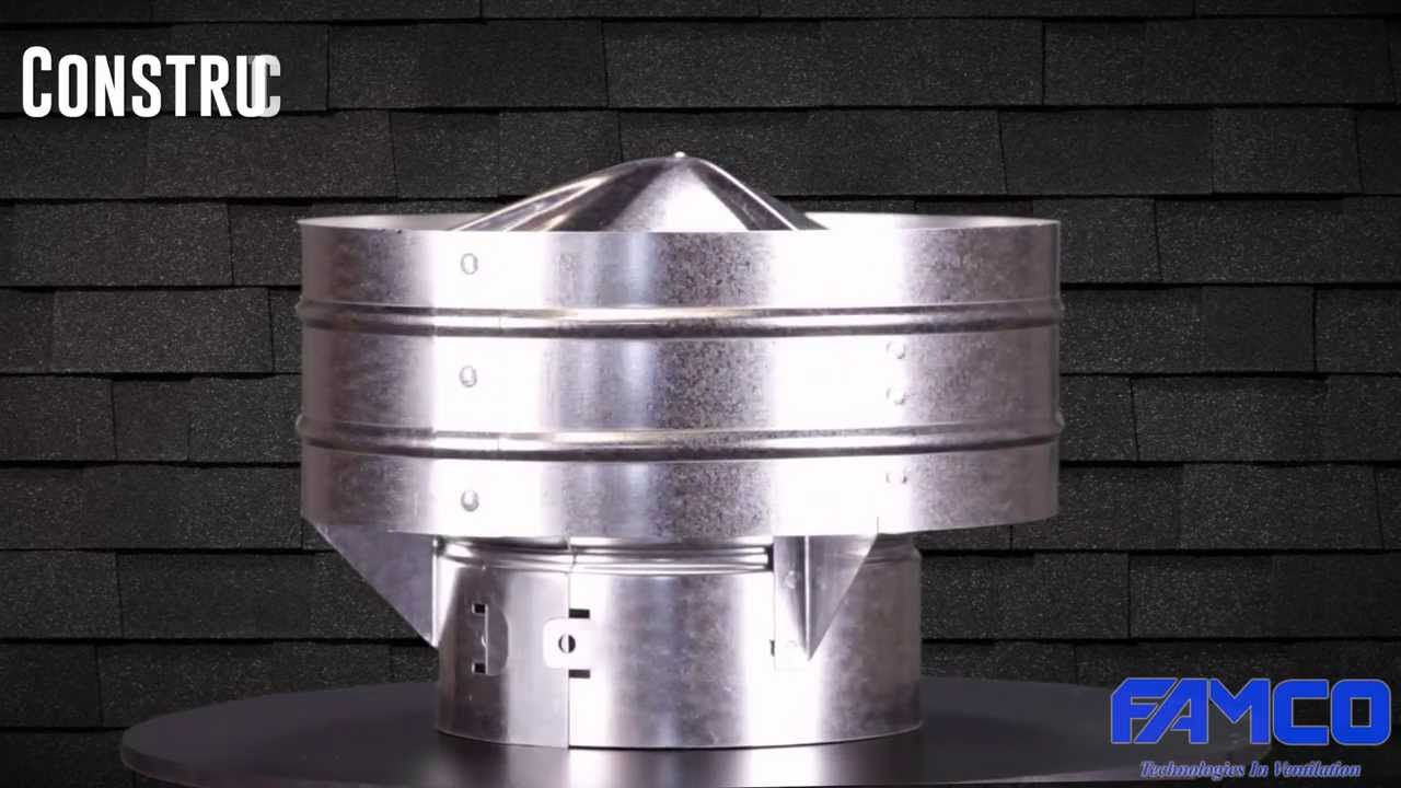 Globe Vent Hvac Roof Vent By Famco Manufacturing Youtube