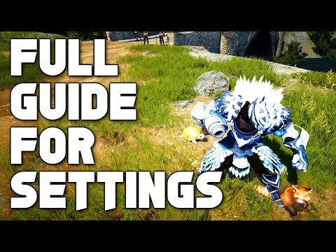 [BDO] Best Settings For Black Desert Online (and How To Remove Those Notifications!)