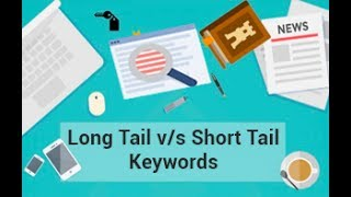 Short tail and Long tail Keywords | How to rank on Google | SEO keyword research tutorial