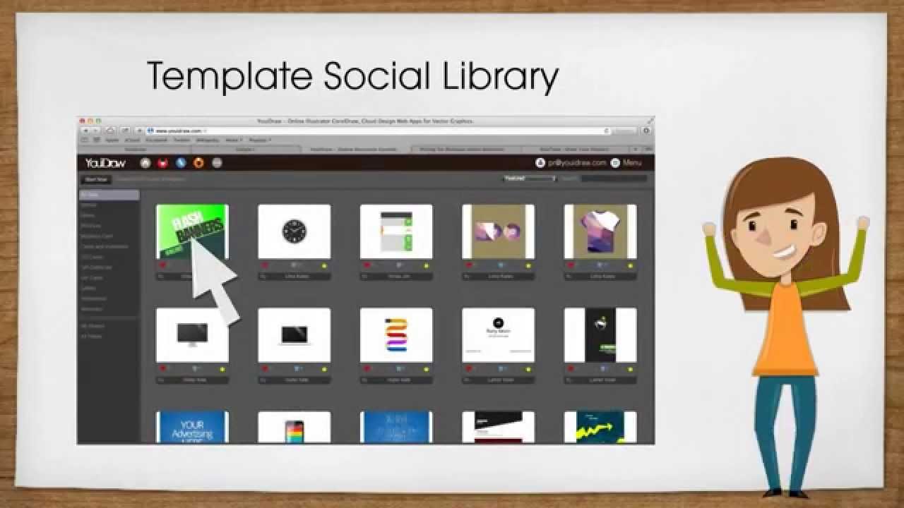 Online Banner Maker, icon Make, Vector Graphic Design - YouiDraw ...