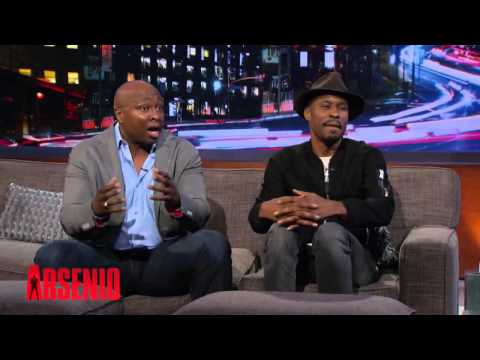 Wood Harris Shares His Hip Hop Past With Common & Queen Latifah