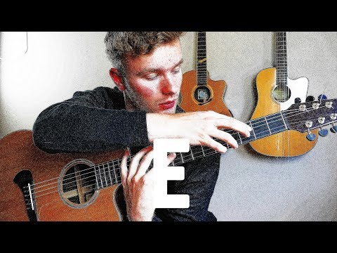 GUITAR but all strings are tuned to EEEEEE