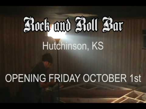 Rock and Roll Bar - Hutchinson, KS - Stage Building