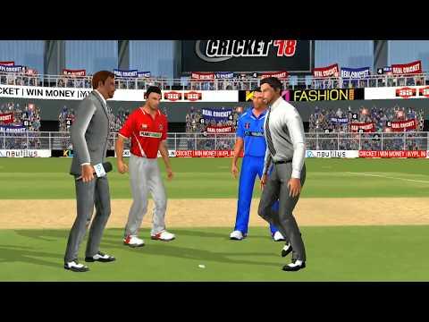 6th May IPL 11 Kings XI Punjab Vs Rajasthan Royals Real cricket 2018 mobile Gameplay