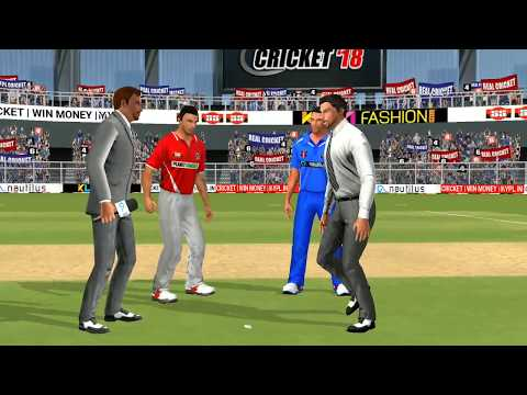 6th May IPL 11 Kings XI Punjab Vs Rajasthan Royals Real cricket 2018 mobile Gameplay - 동영상