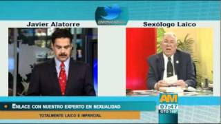 Nuestro Sexólogo Laico aconseja a mi compañero Javier Alatorre