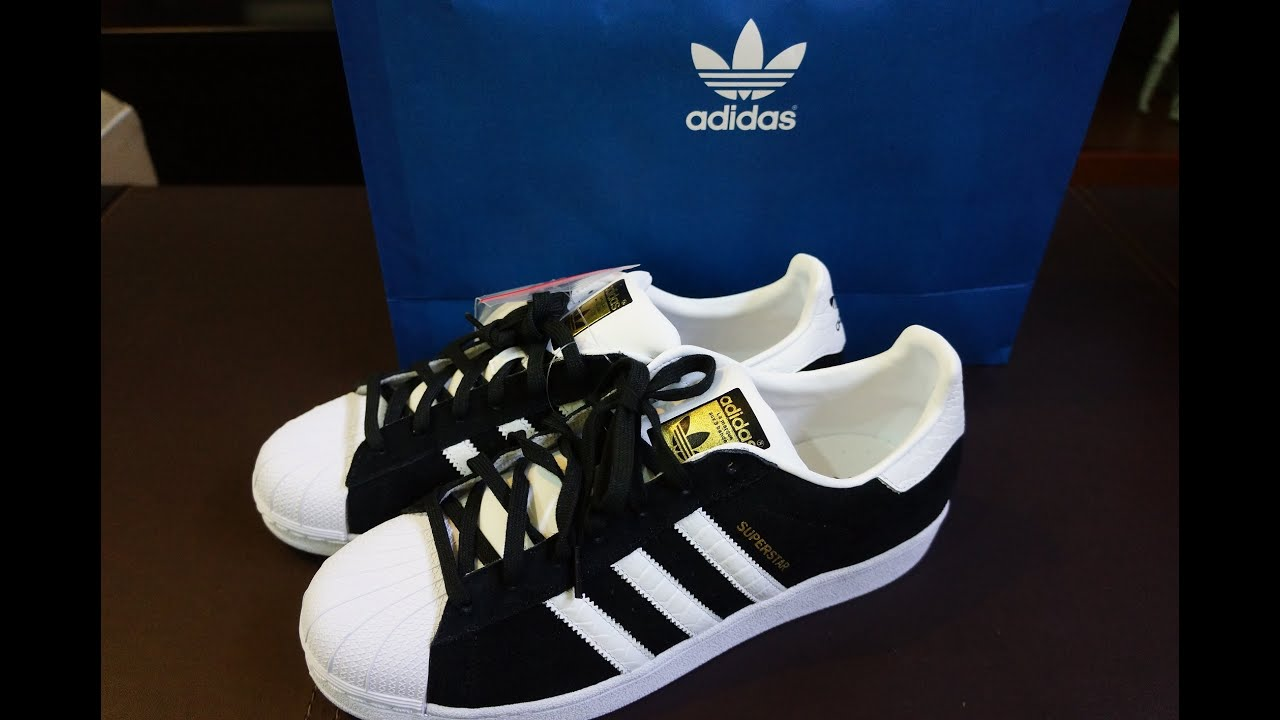 adidas superstar 2 black and blue