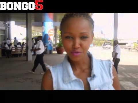 Huddah Monroe akiwasili JK Nyerere International Airport, Dar - June 28