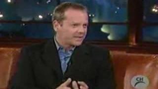 Kiefer Sutherland on Craig Ferguson Part 1