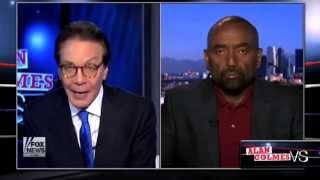 Jesse Lee Peterson vs. Liberal Alan Colmes on #BlackLivesMatter