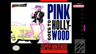 Pink Panther Goes To Hollywood Playthrough (SNES)