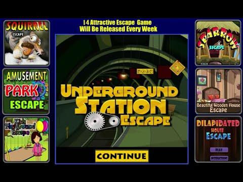 Jeux Flash ~ Underground Station Escape
