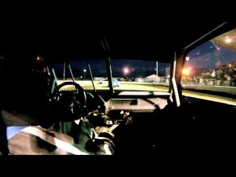 El paso county speedway hornet main in car 7/2/11