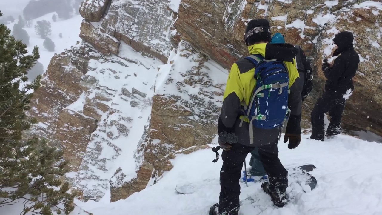 Ruby Mountain Camping, Skiing, and Snowboarding Trip