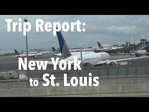 TRIP REPORT - United Airlines, New York (EWR) to St  Louis