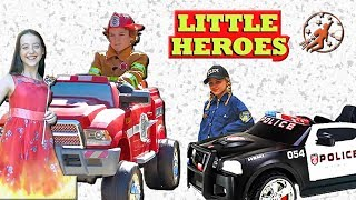 Little Heroes Season 5 - The Fire Princess, The Kid Police and the Doctor - New Sky Kids
