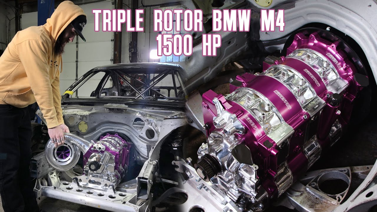 The 20B, 3-rotor Swapped BMW M4 | Rowdy's Garage: Episode 1