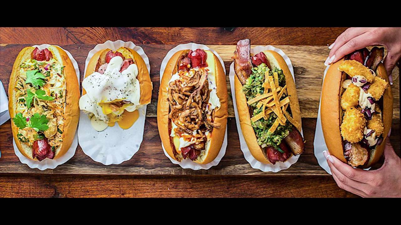 Gourmet Hot Dog Combinations