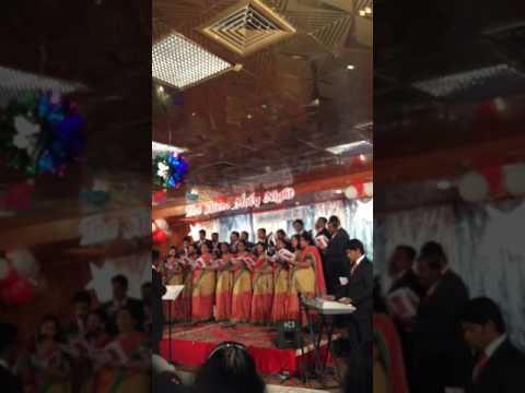 Minnaminni pole... Christmas song Sehion choir singing