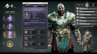 God Of War (2018): Sindri's Royal Dwarven Armor (FULL SET) - BEST ARMOR