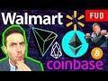 Crypto Bull Run! Ethereum NOT a Security! Tron Walmart EOS Coinbase AMB ARK Bitcoin Mining News!