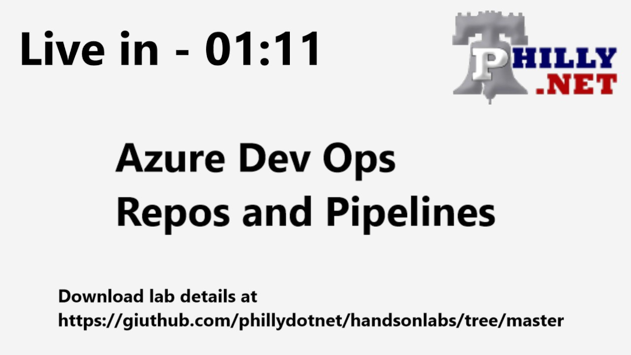 2019 01 02 Hands On Labs - Azure DevOps Repos and Pipelines