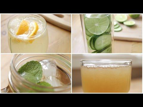 4 Healthy Soda Alternatives   Easy Summer Drink Ideas
