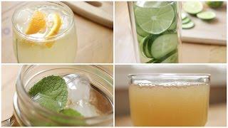 4 Healthy Soda Alternatives | Easy Summer Drink Ideas