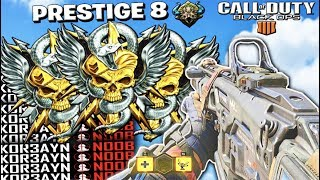 ENTERING PRESTIGE 9 // TOP RANKED COD PLAYER // MULTIPLAYER + TIPS // CALL OF DUTY: BLACK OPS 4